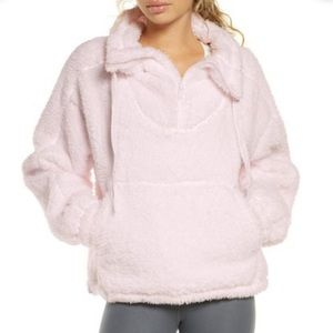 Free People Movement Sky Faux Shearling Pullover